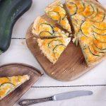 tartă sărată cu zucchini - aluat quiche