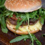 hamburger de porc cu pere
