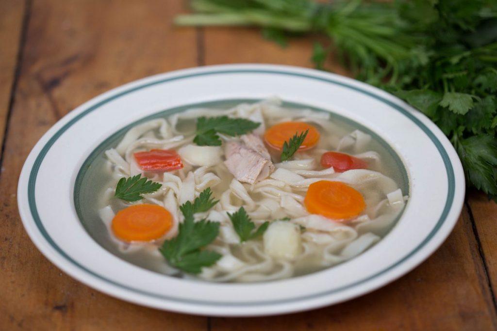tăiței cu supă