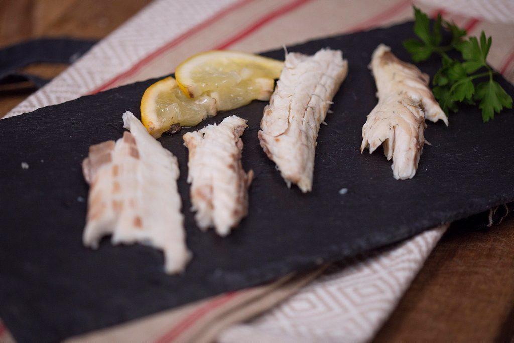 pește în crustă de sare