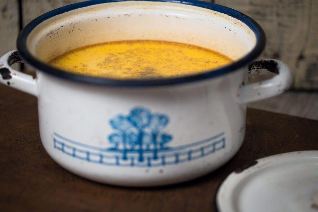 crema de zahar ars cu scortisoara si portocala