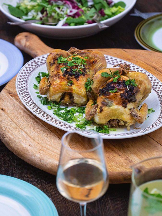 cocoșei de pădure  la cuptor – cine mănâncă împreună, rămâne împreună