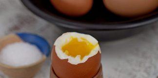 ou moale fiert - în coajă