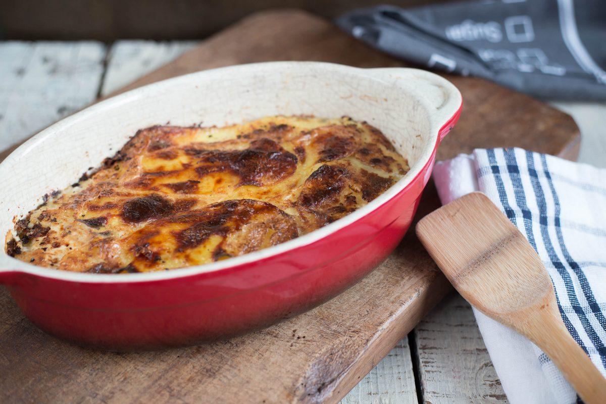 gratin, gratin, ești cartoful cel mai fin – cartofi dauphinoise