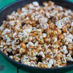 popcorn cu caramel sărat