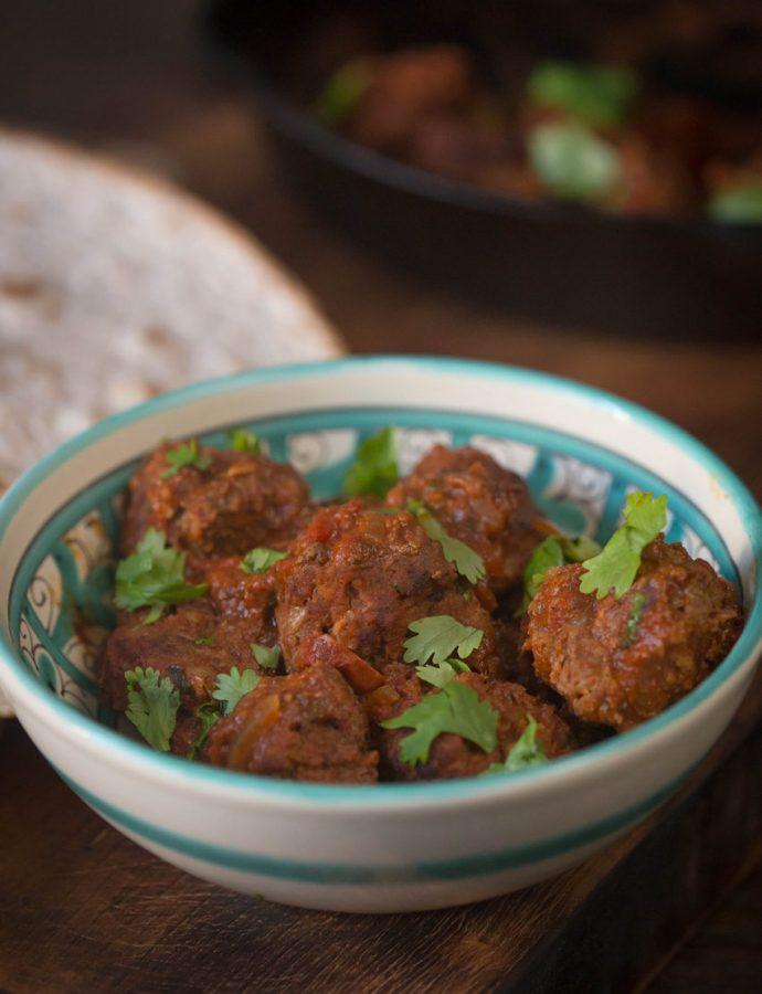 chiftele marocane cu sos