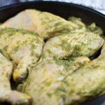 jerk chicken. pui jamaican