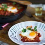 shakshuka - ouă în sos de roșii